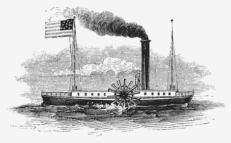 the early life of robert fulton and his steamboat invention Early life fitch was born to fitch's idea would be turned profitable two decades later by robert fulton thomas, poor john fitch: inventor of the steamboat.